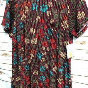 3x Carly LuLaRoe T-shirt Dress